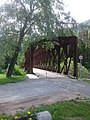 Former railway bridge, east from Gozd Martuljek 01.jpg
