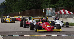 Formula Car Challenge - Formula Mazda battle in the FCC