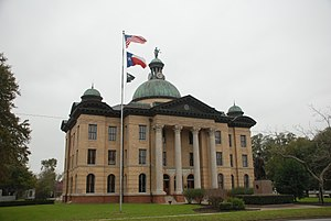 Charles Henry Page - Image: Fort Bend County Courthouse Richmond Texas DSC 6372 ad