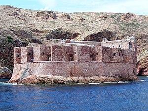 Fort of São João Baptista (Berlengas) - Image: Forte Berlengas CCBY