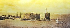 Fortress of the Sea, Heraklion, Crete 1919.jpg