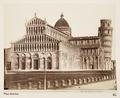Fotografi. Pisa, Italien. - Hallwylska museet - 107400.tif