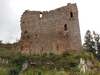 Château de Dreistein - Image: France Eastern Dreistein castle 2