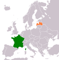 France Latvia Locator.png