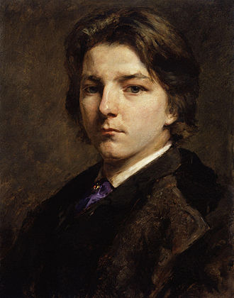 Frank Holl - Self-portrait, 1863