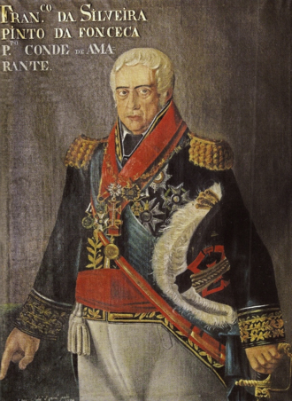 Francisco da Silveira Pinto da Fonseca Teixeira, 1st Count of Amarante - 19th-century portrait of General Silveira, Count of Amarante