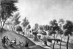 Frankfurt Am Main-Johann Caspar-Zehender-Die Allee auf dem Galgenwall-1772.jpg