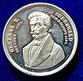 Frankfurt am Main, German Revolution Medal 1848 General Hans von Auerswald, obverse.jpg