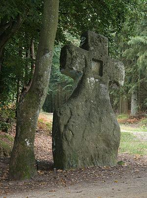 Fraubillen cross - The Fraubillen cross