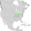 Fraxinus quadrangulata range map 1.png