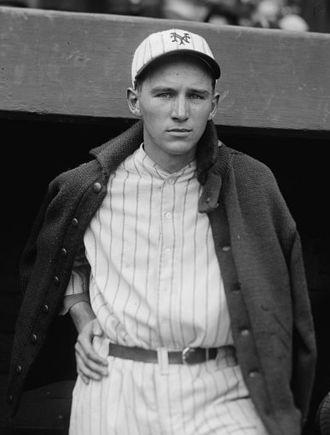 Freddie Lindstrom - Image: Freddie Lindstrom 1924 crop