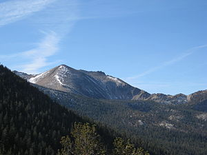 Freel Peak - Freel Peak from the Tahoe Rim Trail