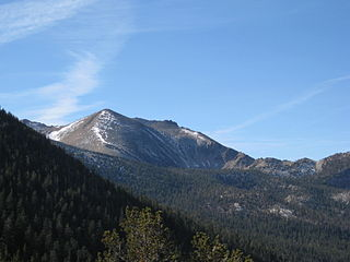 Freel Peak mountain near Lake Tahoe, California, USA