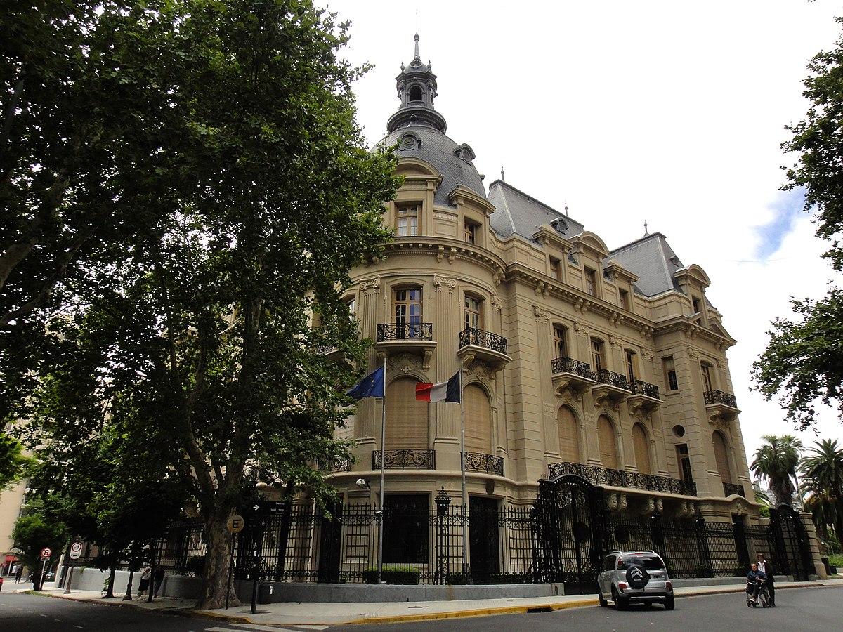 Embajada de francia en argentina wikipedia la for Republica francesa wikipedia