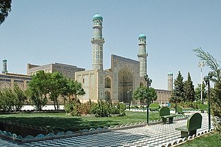 Herat City in Afghanistan