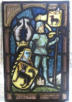 County of Sargans - Image: Friderici VII Toggenburg
