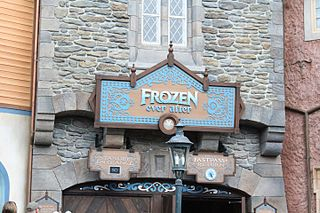 Frozen Ever After attraction located in Epcot, Hong Kong Disneyland, Tokyo DisneySea and Walt Disney Studios