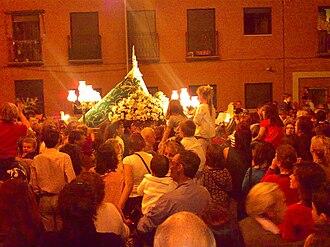 Fuencarral - Image: Fuencarral virgen valverde