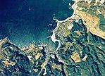 Fukaura town center area Aerial photograph.1975.jpg