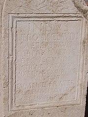 Funerary Stela Corporis Custodes