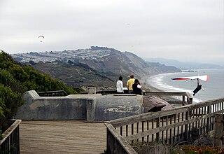 Fort Funston former harbor defense installation in San Francisco