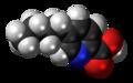 Fusaric acid molecule spacefill.png