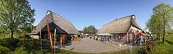 Gärtnermarkt zwischen Bauernhäusern (Teilpano) - panoramio.jpg