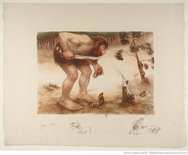 Géant ou l'ogre et la fée, par Jean Veber.jpeg