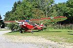 G-BJIV Piper PA18 Super Cub Yorkshire Gliding Club 16-08-16 (28872284460).jpg