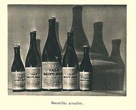 G.-L. Arlaud-recueil Vals Saint Jean-embouteillage, les diverses bouteilles.jpg