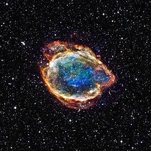 Type Ia supernova - G299 Type Ia supernova remnant.