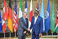 G7 Taormina Paolo Gentiloni Akinwumi Adesina handshake 2017-05-27.jpg