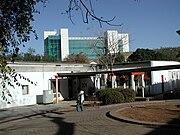 Courtyard and University of Botswana buildings