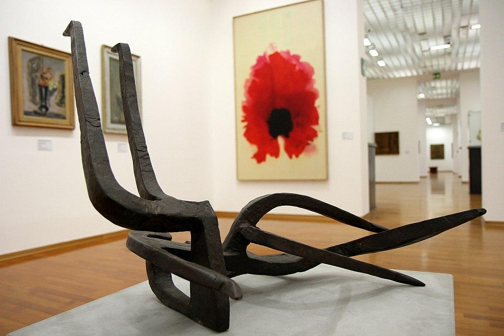 Musée d'art moderne et contemporain GAM à Turin dans le quartier de Crocetta. Photo de Gianluca Platania