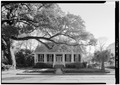 GENERAL VIEW OF NORTH (FRONT) ELEVATION - Goelet-Randlette-Beck House, 1005 Augusta Street, Mobile, Mobile County, AL HABS ALA,49-MOBI,218-1.tif