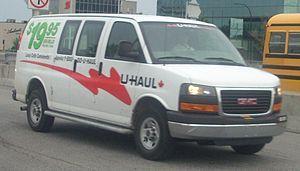 U-Haul - GMC Savana U-Haul