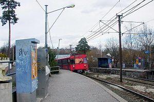 Bjørnsletta (old station) - Old Bjørnsletta Station in 2006