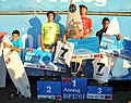 Ganadoras Categoría Juniors del campeonato de Surf Trucos Analog Pichilemu, Air and Style 2012.jpg