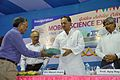 Ganga Singh Rautela Presents New MSE Book to Manish Gupta - Inaugural Function - MSE Golden Jubilee Celebration - Science City - Kolkata 2015-11-17 4973.JPG