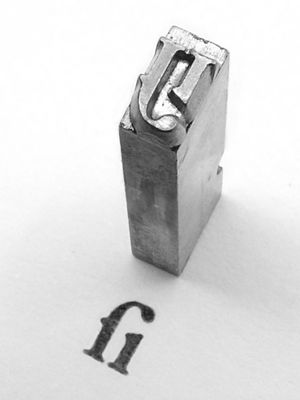 Type metal - A sort made from type metal