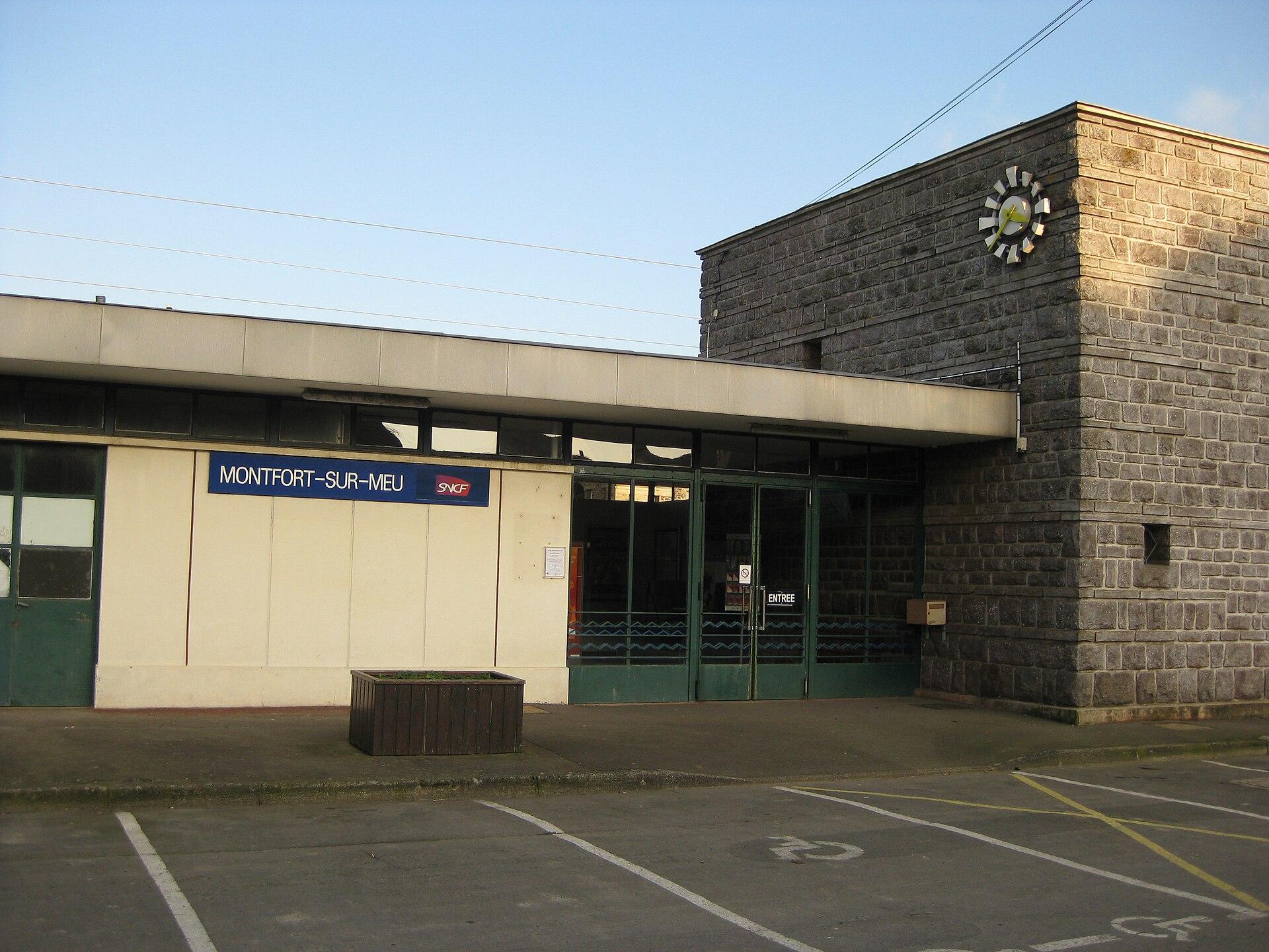 Station montfort sur meu wikipedia for Architecte montfort sur meu