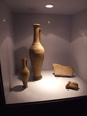 Garum - Garum jugs from Pompeii