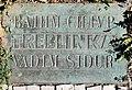 Gedenktafel Amtsgerichtsplatz (Charl) Treblinka 2.jpg