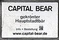 Gedenktafel Friedrichstr 151 (Mitte) Capital Bär.jpg