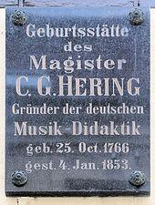 Gedenktafel am Haus Poststraße 3, in Bad Schandau (Quelle: Wikimedia)