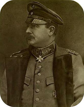 Ebert–Groener pact - Wilhelm Groener in 1917.