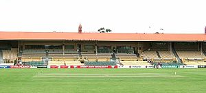 Adelaide Rams - Adelaide Oval, original home ground of the Adelaide Rams