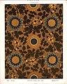 George Harrison and Co (Bradford) -Linoleum, 2 yards wide. (Victorian floral and leaf pattern). No. 137-6. Pattern shown half size. (1880s?) (20876155354).jpg