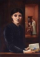 Georgiana Burne-Jones by Edward Coley Burne-Jones