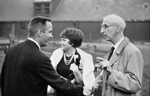 Gerhard Fischer (architect) - Fischer (right) around 1967